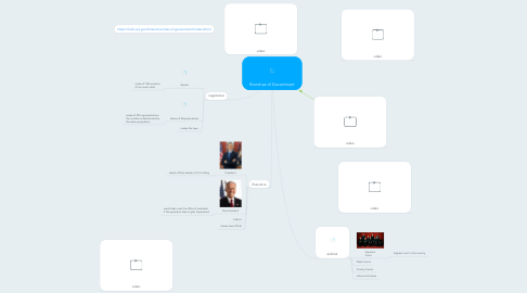 Mind Map: Branches of Government