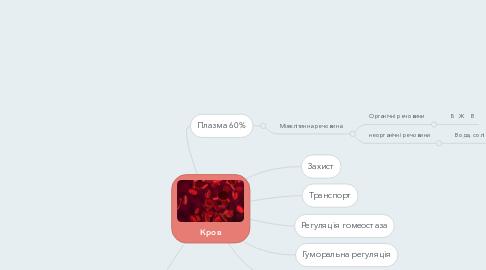 Mind Map: Кров