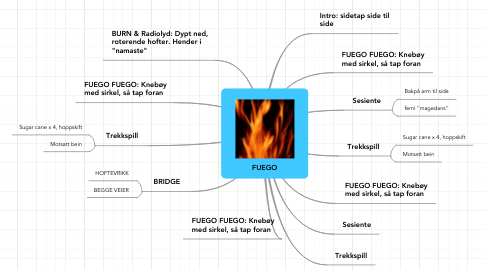 Mind Map: FUEGO