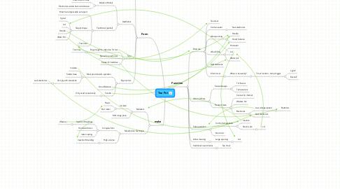 Mind Map: Tea Pot