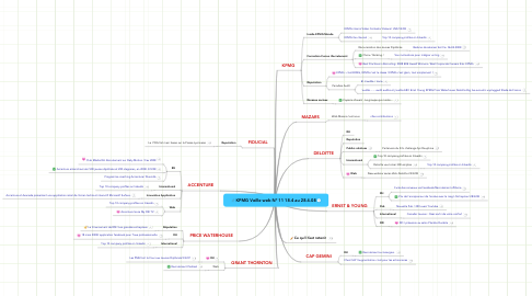 Mind Map: KPMG Veille web N° 11 18.4 au 28.4.08