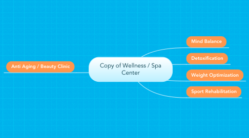 Mind Map: Copy of Wellness / Spa Center