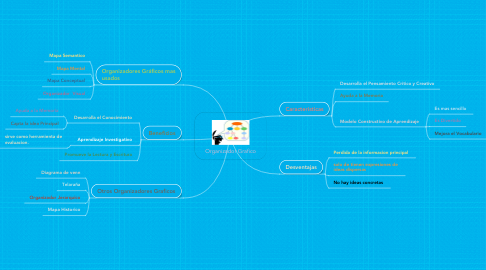 Mind Map: Organizador Grafico