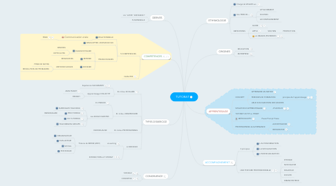 Mind Map: TUTORAT