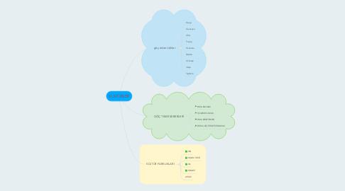 Mind Map: KÜLTÜRLER