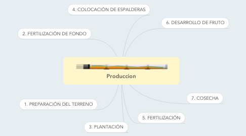 Mind Map: Produccion
