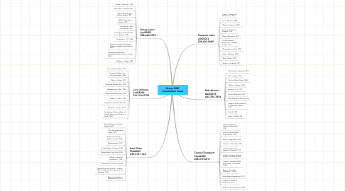 Mind Map: Group ONE  Constitution Cases