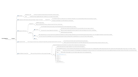 Mind Map: Traffic Manifesto