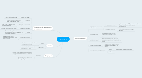 Mind Map: Module 9