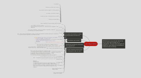 Mind Map: UE1-Récit M1E3