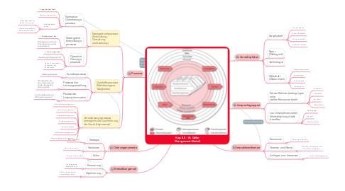 Mind Map: Kap. 8.0 - St. Galler Management-Modell