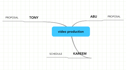Mind Map: video production