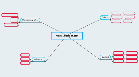 Mind Map: MediaStrategist.com