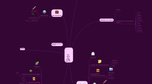 Mind Map: Ma vision des usages des TIC