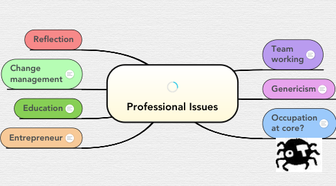 Mind Map: Professional Issues