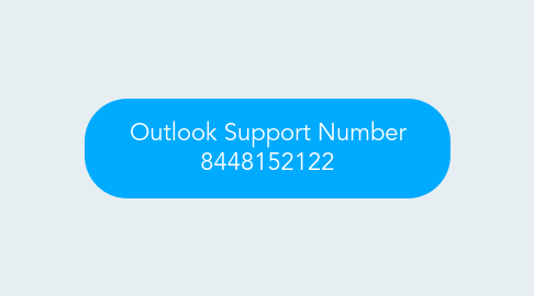 Mind Map: Outlook Support Number 8448152122