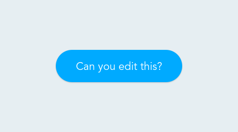 Mind Map: Can you edit this?