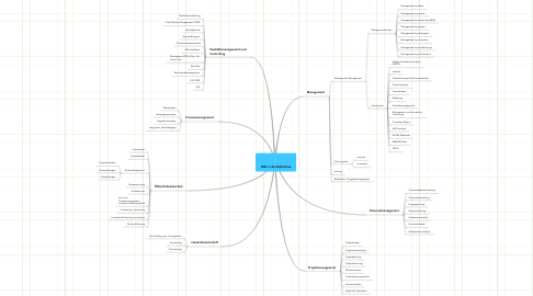 Mind Map: BWL in der Bibliothek