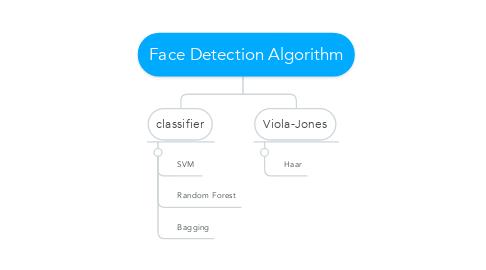 Mind Map: Face Detection Algorithm