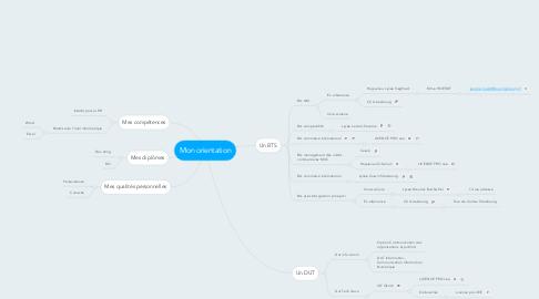 Mind Map: Mon orientation