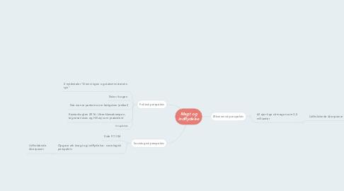 Mind Map: Magt og indflydelse