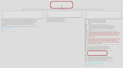 Mind Map: Storybird.com EDUC 611 - Week 4 - Lara G. Beeson