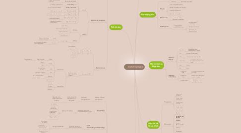 Mind Map: Marketing Digital