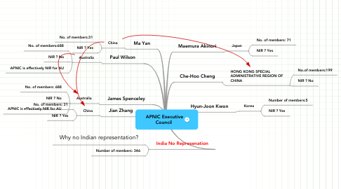 Mind Map: APNIC Executive