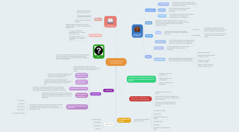 Mind Map: Fundamentos de mercadotecnia
