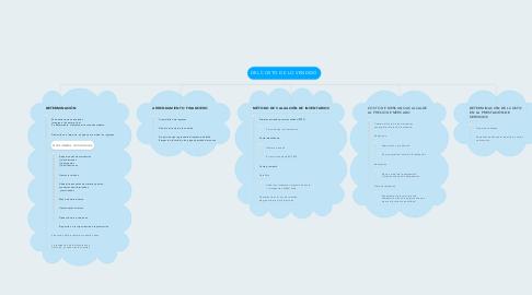 Mind Map: principales servidores de correo electrónico