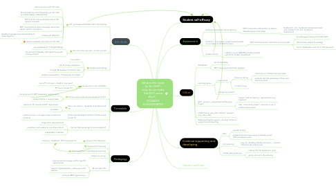 Mind Map: What is the vision for the MYP - how do we make the MYP come alive?   STUDENT ENGAGEMENT