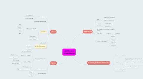 Mind Map: pluriforme samenleving