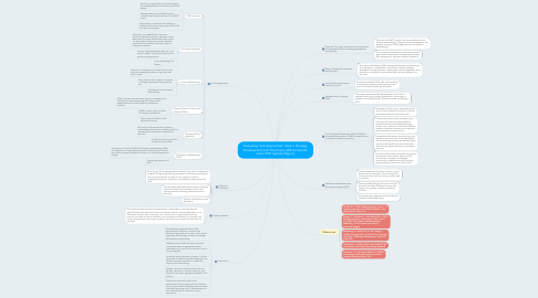 Mind Map: Evaluating  Soft Approaches  Used in Strategy Development and Planning by Mohammad Ali Jaafar (PhD Systems Mgmt.)