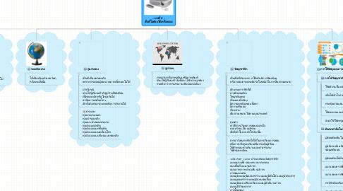 Mind Map: -- บทที่ 5 -- สื่อที่ไม่ต้องใช้เครื่องฉาย