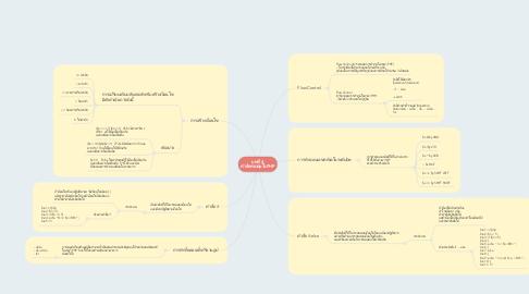 Mind Map: บทที่ 4 คำสั่งควบคุมในPHP