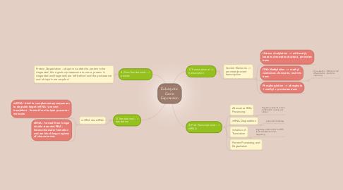 Mind Map: Eukaryotic Gene Expression