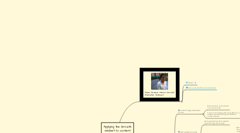 Mind Map: Applying the Growth mindset to content