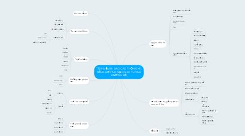 Mind Map: TT58-Mẫu 04: BÁO CÁO THỐNG KÊ, TỔNG HỢP TAI NẠN GIAO THÔNG ĐƯỜNG BỘ