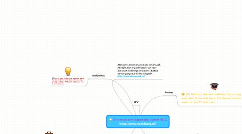 Mind Map: De eerste schoolperiode op het ROC http://www.roctilburg.nl/