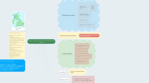 Mind Map: Борьба за власть в Англии в англосаксонский период
