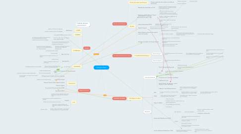 Mind Map: Tabagisme Passif