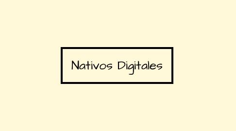 Mind Map: Nativos Digitales