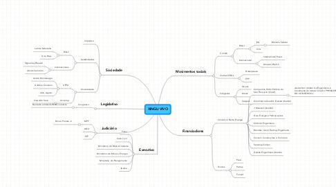 Mind Map: XINGU VIVO