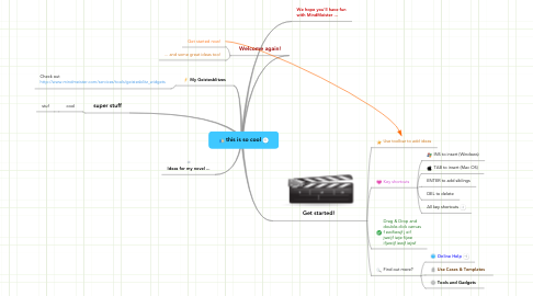 Mind Map: this is so cool