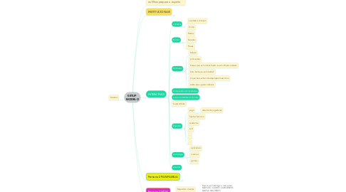 Mind Map: SETUP  MODELO