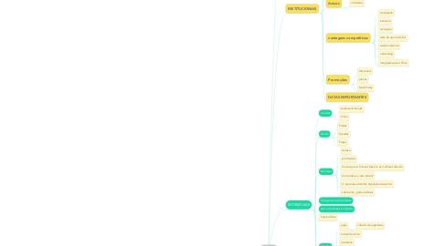 Mind Map: SETUP  MODELO
