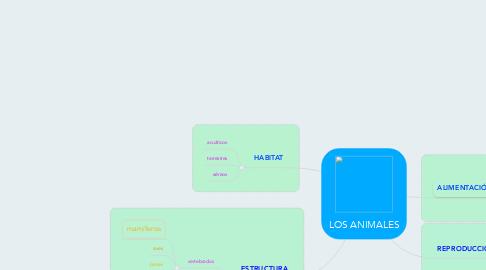 Mind Map: LOS ANIMALES