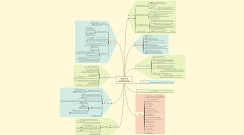 Mind Map: Supporting Infrastructure Workshop Results