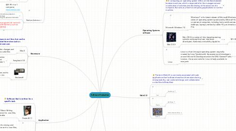 Mind Map: Software Evaluation
