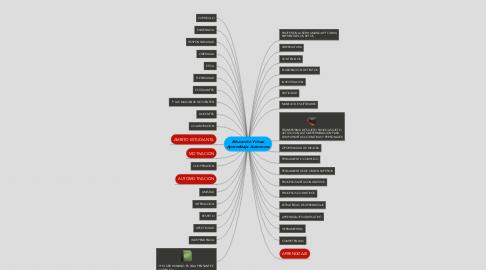 Mind Map: Educación Virtual Aprendizaje Autonomo